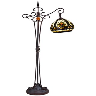 Glenda 1-light Multi-color 60-inch Tiffany-style Floor Lamp