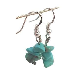 Mama Designs Handmade Sterling Silver Dangle Earrings