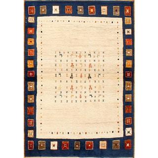 Hand Knotted Nomadic Beluchi Rug (3'7 x 4'11)