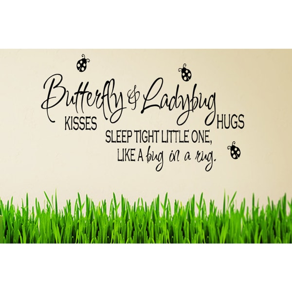 Sleep Tight Little One Wall Art Sticker Decal