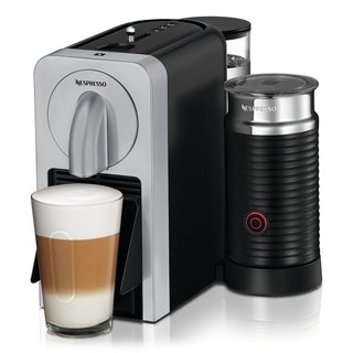 Nespresso Prodigio Espresso Machine (Silver) with Smartphone App Connectivity + Milk Frother