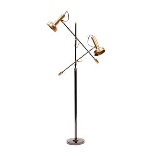 Hip Vintage Double Shade Floor Lamp