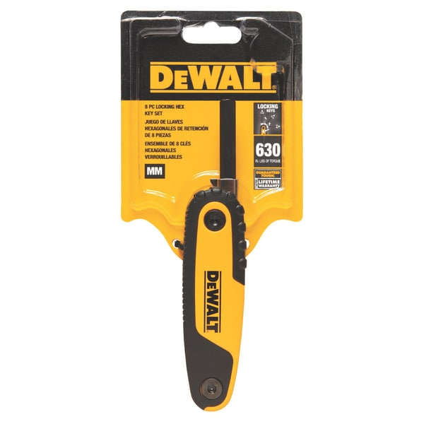 DeWalt DWHT70263M Folding Hex Key Set