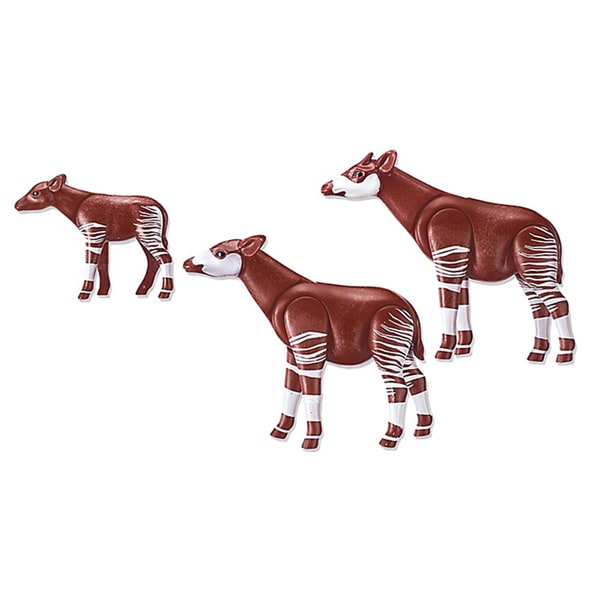 Playmobil Okapi Family Building Kit 17945878