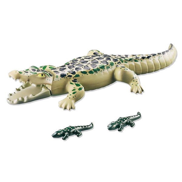 Playmobil Alligator with Babies Building Kit 17945936