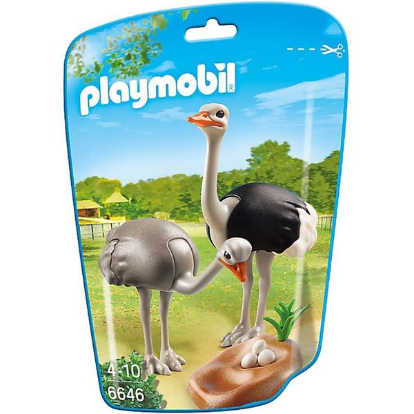Playmobil Ostriches with Nest Building Kit 17946003