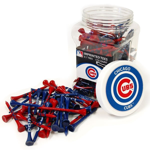 MLB Chicago Cubs Multi-colored 175 Tee Jar 17946265