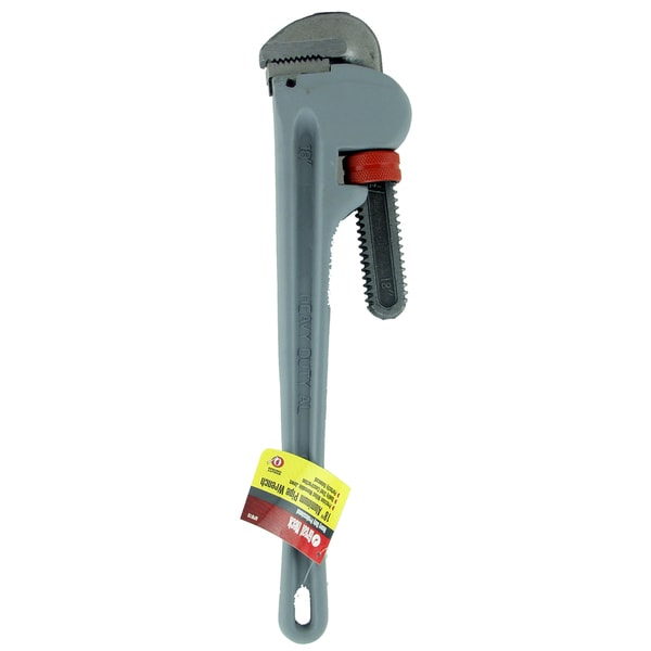 """Great Neck APW18 18"""" Heavy Duty Aluminum Pipe Wrench"""