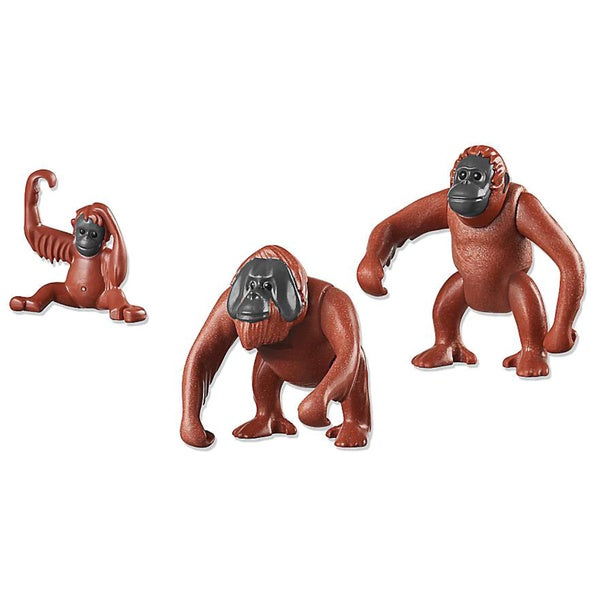 Playmobil Orangutan Family Building Kit 17946287