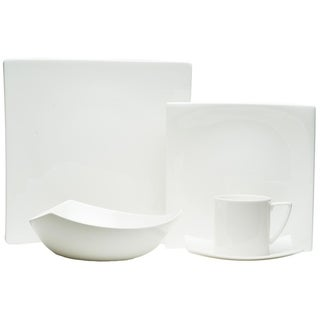 Extreme White 20-piece Dinner Set