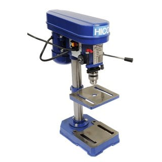 Hico-dp4113 8-inch Bench Top Drill Press 5 Speed Rotary Tool Work Station with 6.5 x 6.5 Inch Cast Iron Worktable