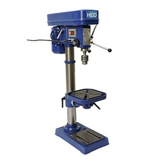 Hico-dp4116 13-inch Bench Top Drill Press 12 Speed Rotary Tool Work Station with 10-inch Cast Iron Worktable/ Height Adjustable