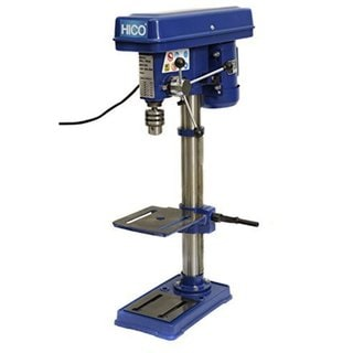 Hico-dp4116q 10-inch Bench Top Drill Press 9 Speed Rotary Tool Work Station with 8 x 7.5-inch Worktable/ Height Adjustable