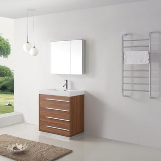 Virtu USA Bailey 30-inch Single Bathroom Vanity Set with Faucet
