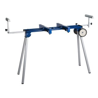 Hico Uwc1203 Folding Miter Saw Stand with Wheels/ Machine Mounts and Material Roller Supports