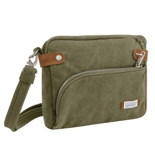 Travelon Anti-theft Heritage Crossbody Messenger Bag