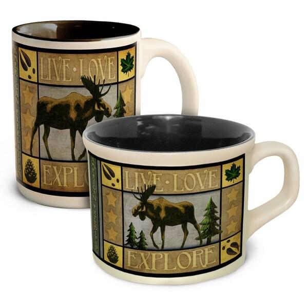 American Expedition Lodge Coffee & Soup Mug Set 17947911