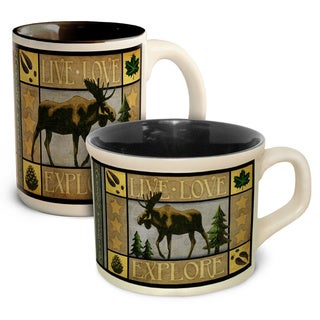 American Expedition Lodge Coffee & Soup Mug Set