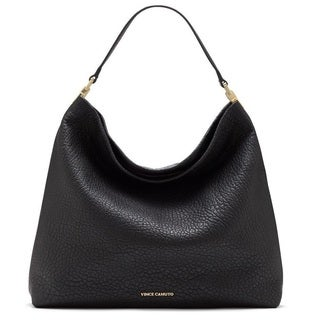 Vince Camuto Adela Black Hobo Handbag