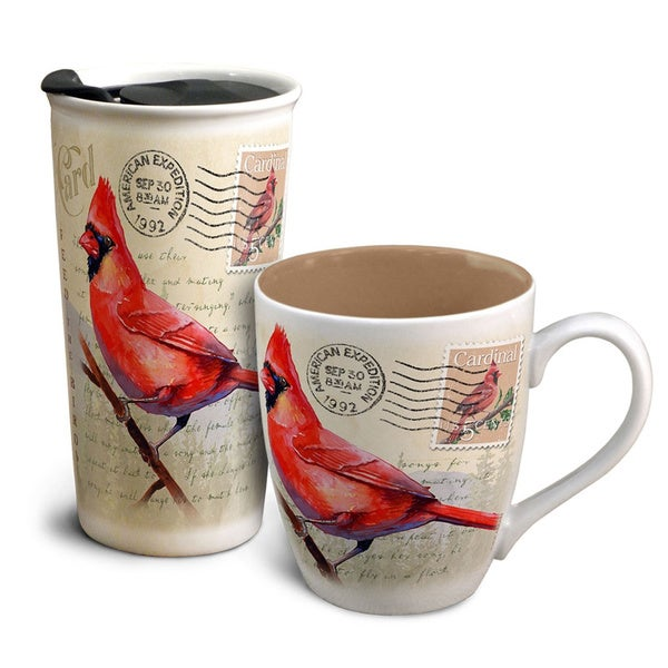 American Expedition Home & Away Vintage Mug Set