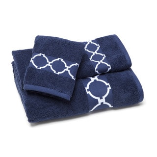 Jill Rosenwald Hampton Links Bath Towel (Set of 4)