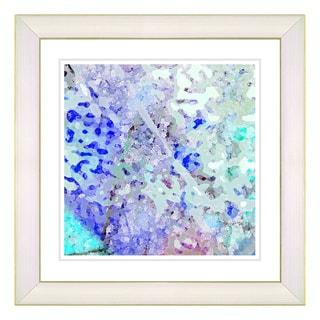 Studio Works Modern 'Frosted Sugar' Framed Fine Art Print