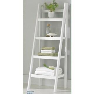Homestar 4-shelf Ladder Bookcase