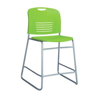 Vy Counter-height Sled Base Chair