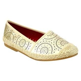 VIA PINKY ROSALIND-62 Women's Espadrille Slip On Flats
