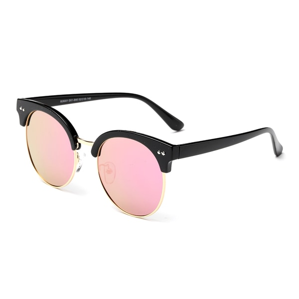 Dasein Polarized Wayfarer Mirrored Unisex Sunglasses