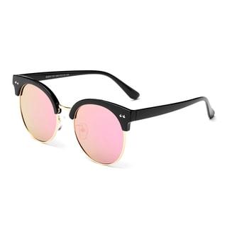 Dasein Polarized Wayfarer Mirrored Unisex Sunglasses