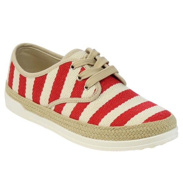 Lace Up Espadrille Sneakers