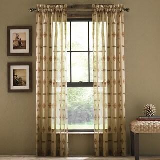 Croscill Chimayo Sheer Curtain Panel