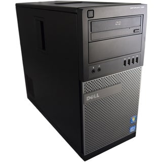 Dell OptiPlex 790 MT Black/ Grey PC Intel Core i3 2100 3.10GHz 2GB DIMM DDR3 80GB Windows 7 Home Premium 32-Bit (Refurbished)