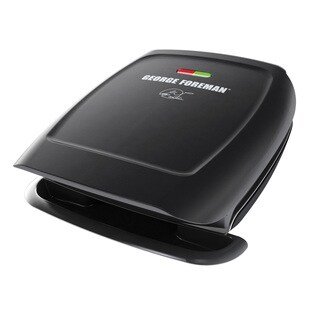 George Foreman GR2060B 4-serving Classic Plate Grill