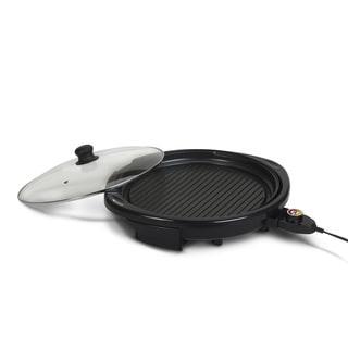 Elite Gourmet EMG-980B 14-inch Electric Indoor Grill, Black