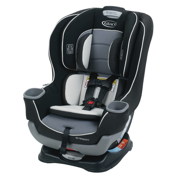 graco extend2fit convertible car seat in gotham 18536598 shopping big. Black Bedroom Furniture Sets. Home Design Ideas