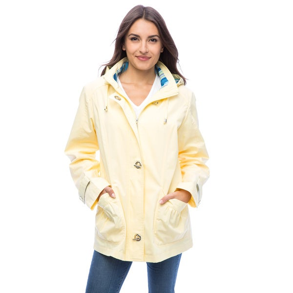 Mackintosh Poplin Light Yellow Lightweight Jacket