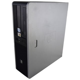 HP Compaq dc7800 SFF Grey/ Black PC Intel Core 2 Duo 2.66GHz 5GB DIMM DDR2 320GB Windows 7 Home Premium 64-Bit (Refurbished)