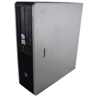 HP Compaq dc7800 SFF Grey/ Black PC Intel Core 2 Duo 2.66GHz 6GB DIMM DDR2 320GB Windows 7 Home Premium 64-Bit (Refurbished)