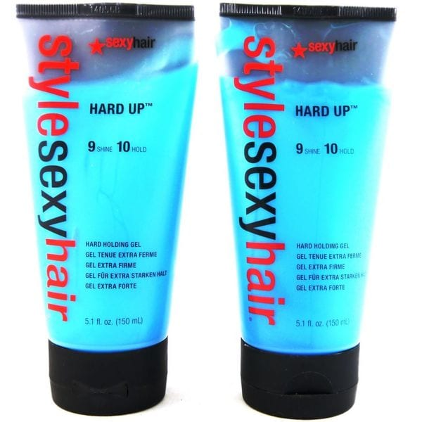 Short Sexy Hair Hard Up 5.1-ounce Gel Tubes (Pack of 2)