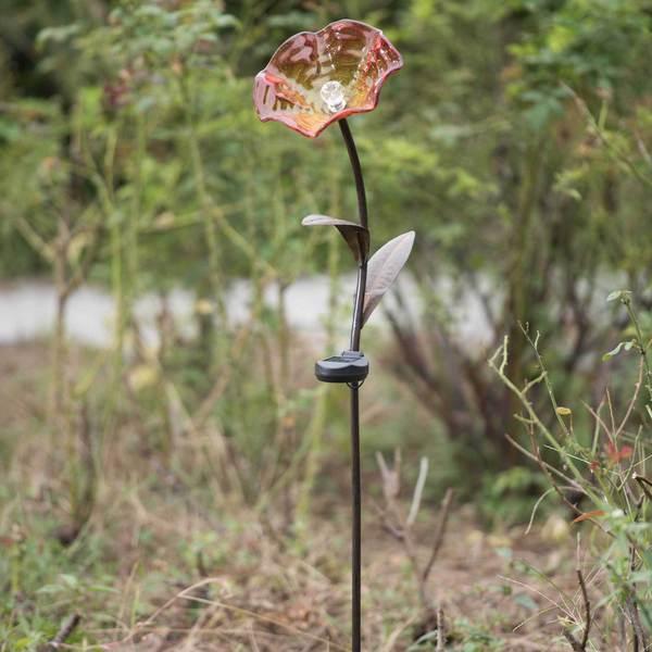 Sunjoy Owl LED Solar Garden Stake