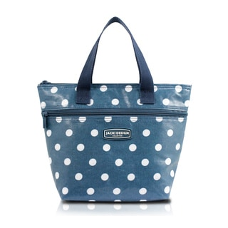 Jacki Design Medium Polka Dot Insulated Lunch Tote