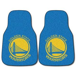 NBA - Golden State Warriors 2-piece Carpeted Car Mats