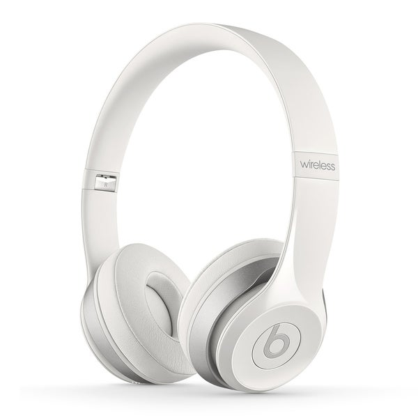 Beats By Dre White Solo 2 Wireless Headphones (Refurbished)