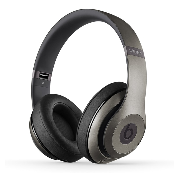 Beats By Dre Studio 2 Wireless Headphones Titanium (Refurbished)