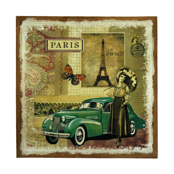 Studio Arts Postcards from the Edge Green Auto Print