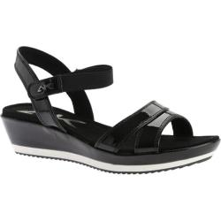 Women's Anne Klein Izoya Sandal Black/Black Synthetic