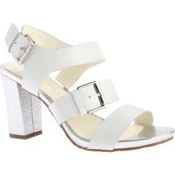Women's Anne Klein Onmymind Sandal White Leather