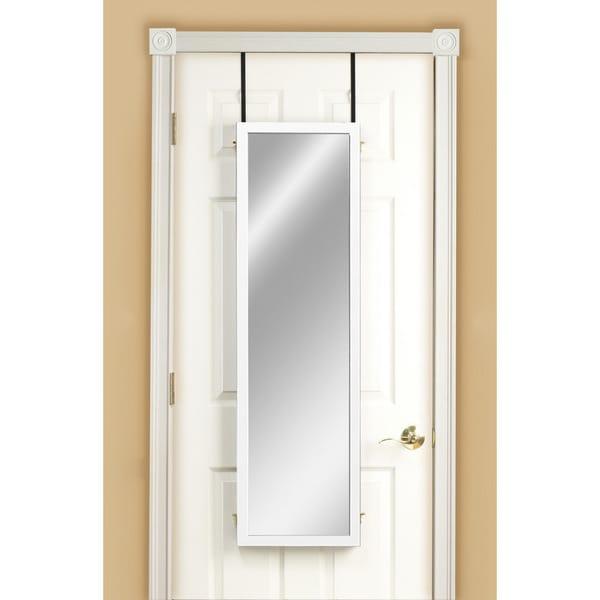 Three Panel Over-the-Door Dressing Mirror